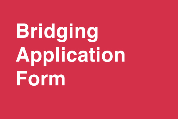 Bridging Application Form