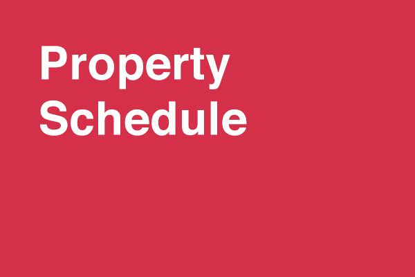 Property Schedule